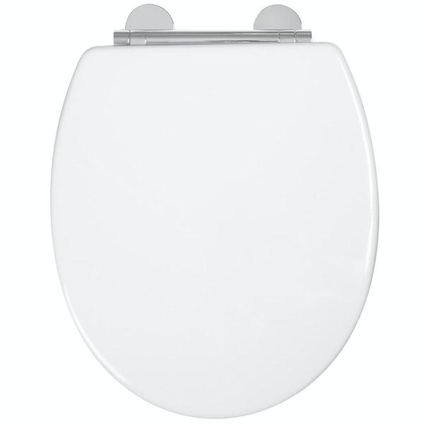 Croydex Lugano flexi fix toilet seat