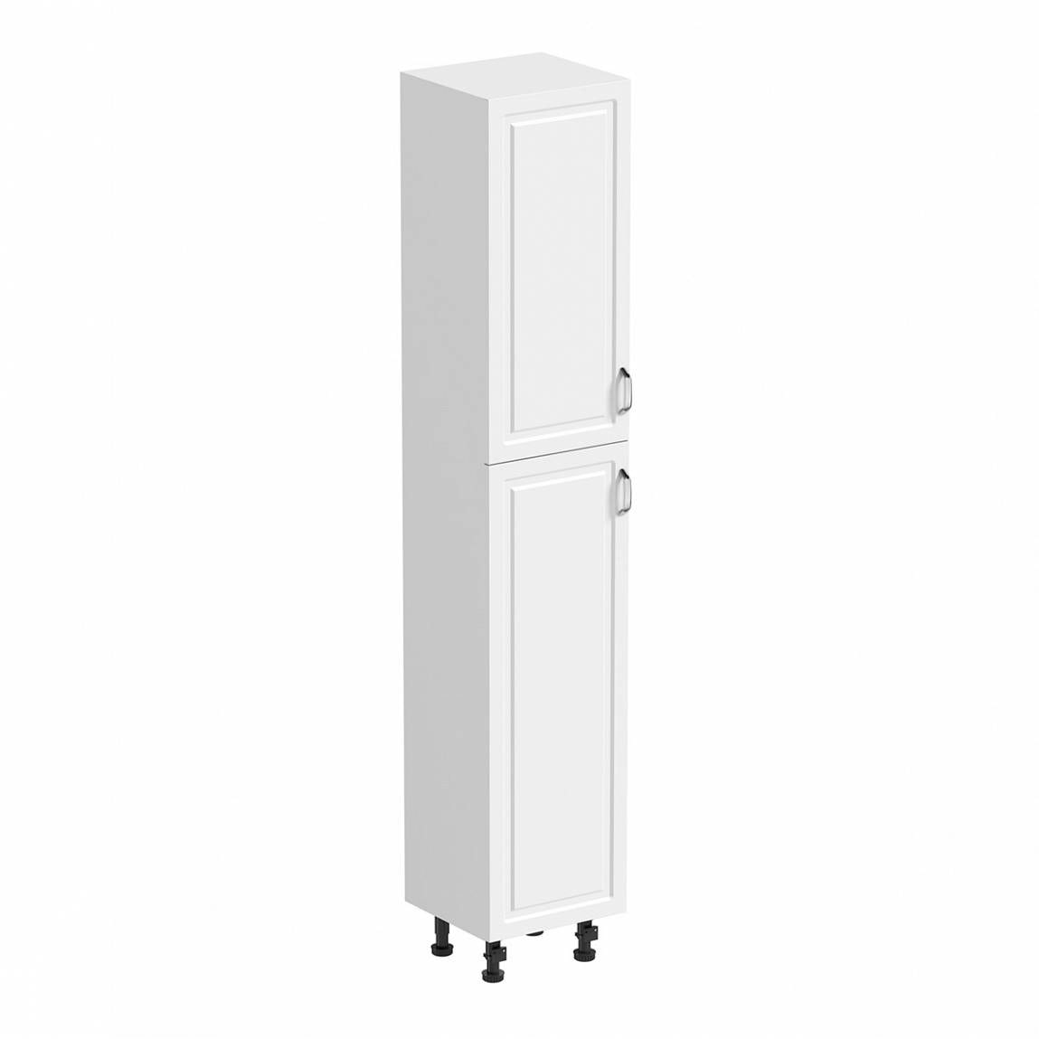 Orchard Florence white tall storage cabinet 350mm