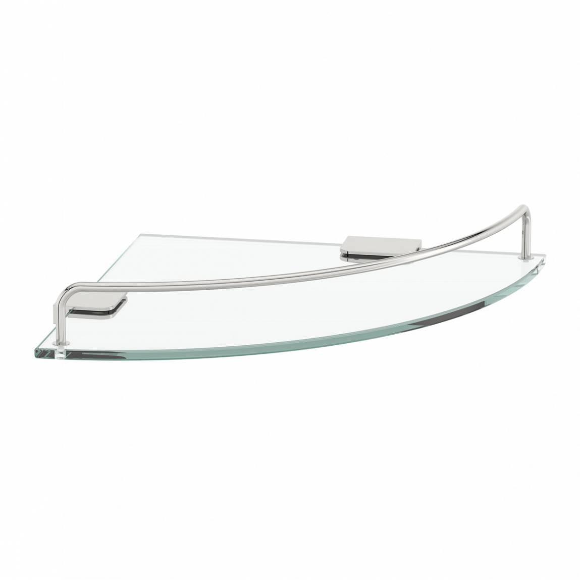 Options Round Corner Glass Shelf