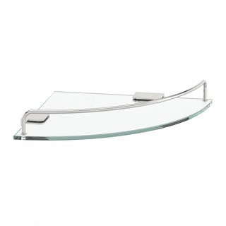 Options Round Corner Glass Shelf