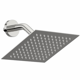 Incus 200mm Shower Head & Angled Wall Arm