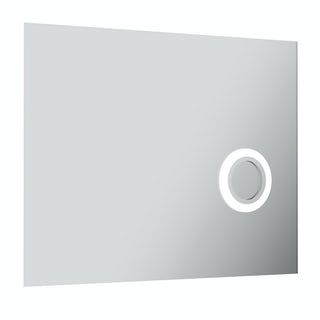 Aurora rectangular LED mirror