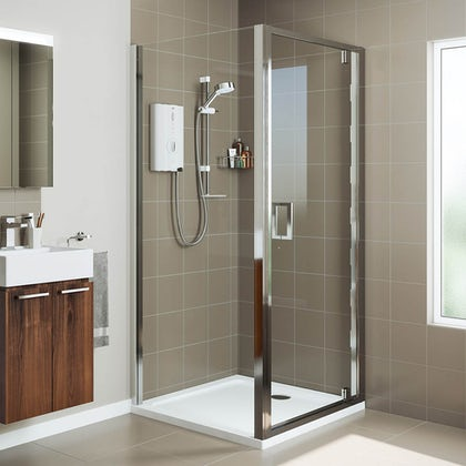 Mira Leap rectangular pivot shower enclosure