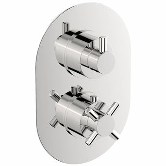 Alexa Oval Twin Valve with Diverter Special Offer