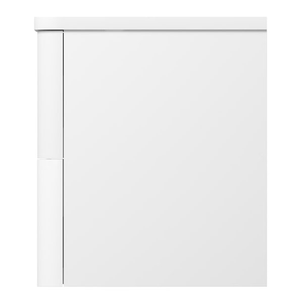 Mode Ellis slate wall hung vanity drawer unit and countertop 600mm