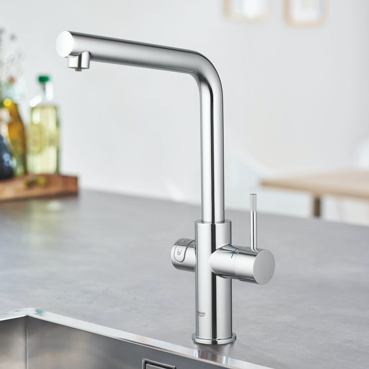Grohe Blue Alternative grohe blue home l spout kitchen tap victoriaplum com