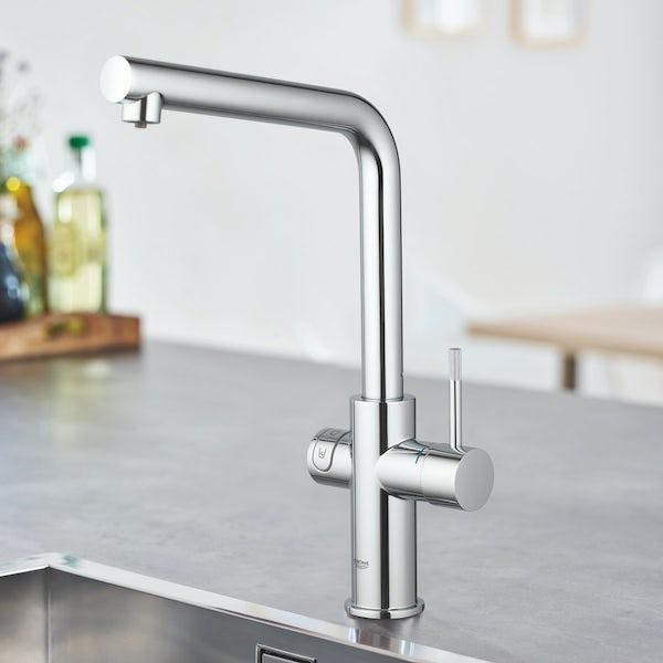 Grohe Blue Home L spout kitchen tap