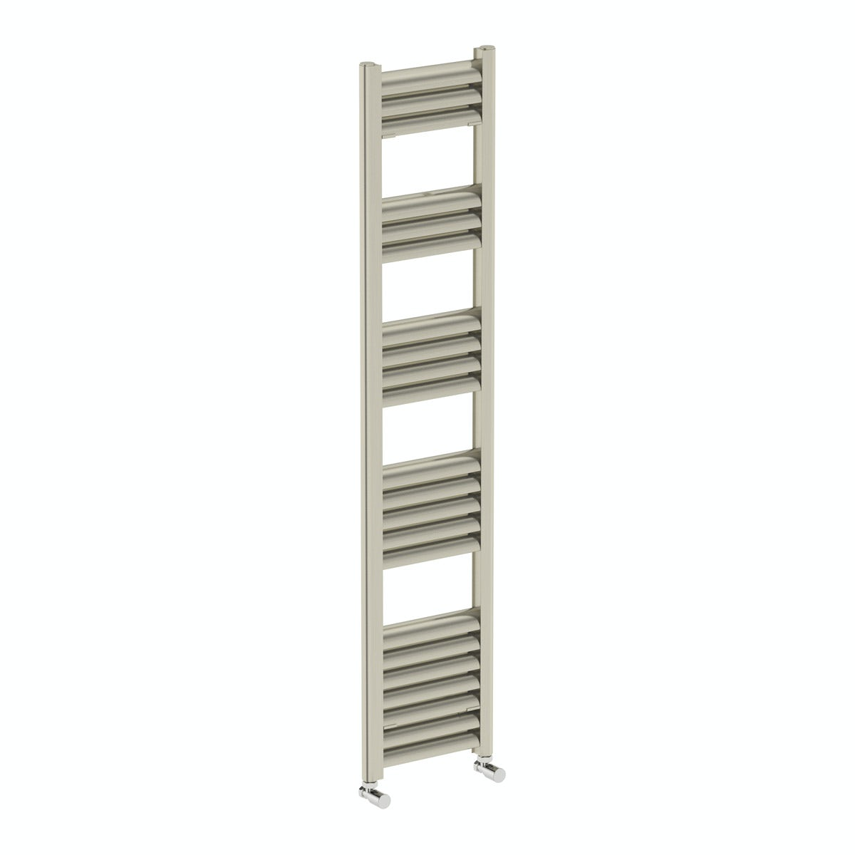 Champagne heated towel rail 1400 x 300