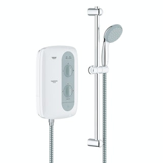 Grohe Tempesta 100 9.5kw electric shower nighttime grey