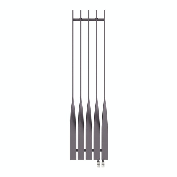 Cyklon modern grey vertical radiator 1600 x 410