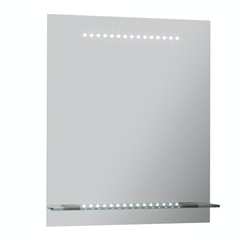 Mode Iridonia LED shelf mirror