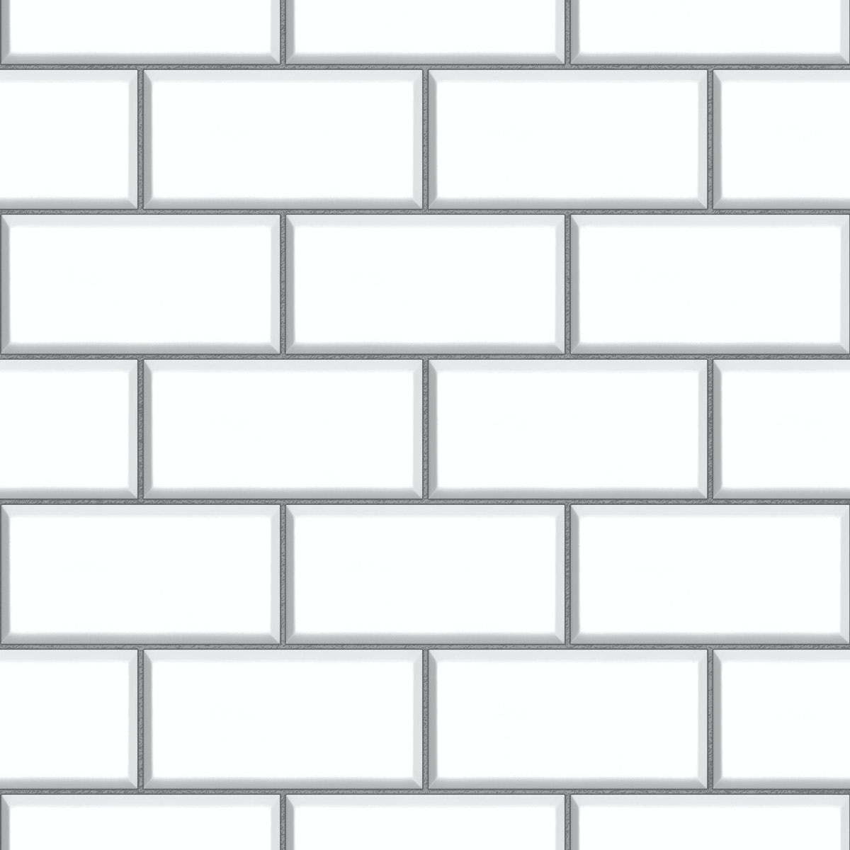 Ceramica Subway Tile - White