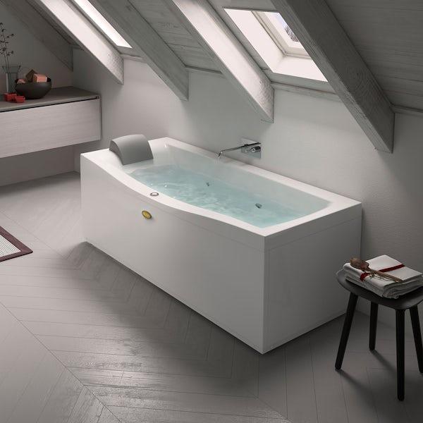 Jacuzzi Essentials left handed single end whirlpool bath