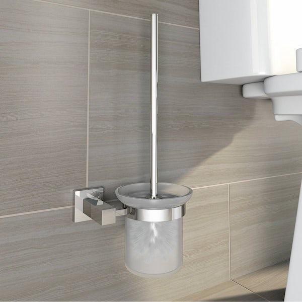 Cubik Toilet Brush & Holder
