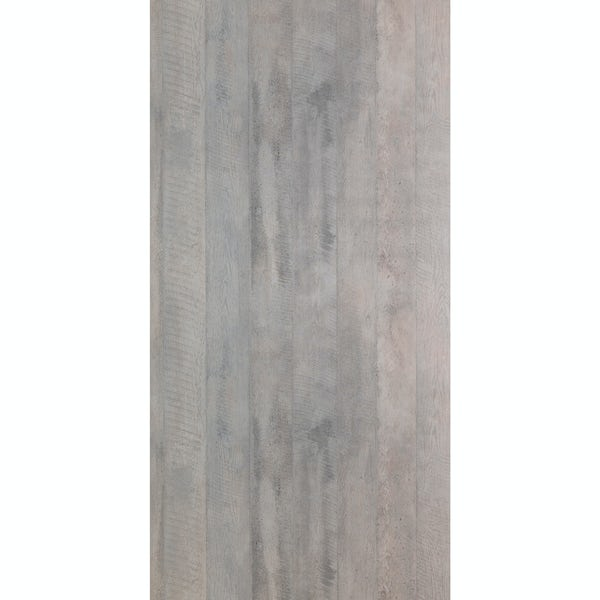 Multipanel Linda Barker Concrete Formwood unlipped shower wall panel 2400 x 1200