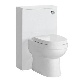 Energy Back To Wall Toilet inc Seat & Slimline White Unit