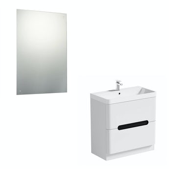 Mode Ellis select essen vanity unit 800mm and mirror offer