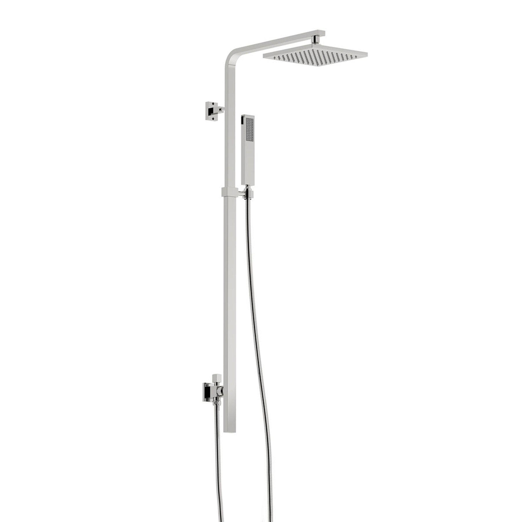 Mode Tetra square shower riser rail kit