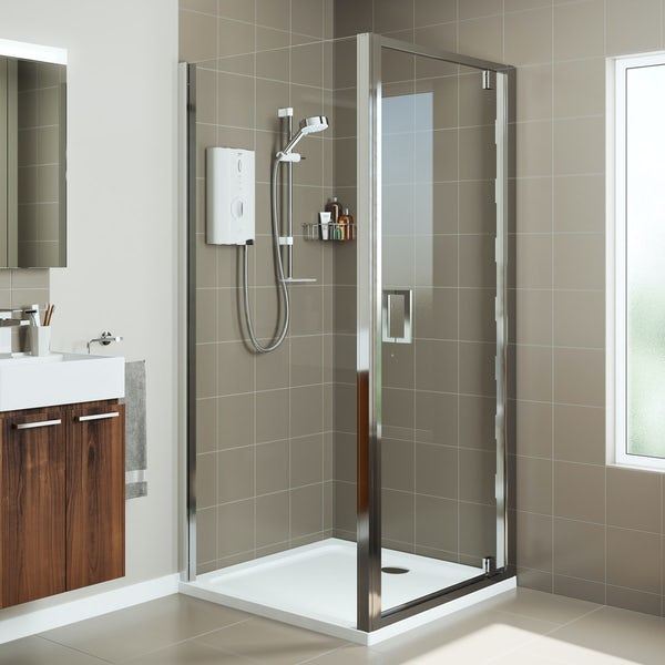Mira Leap pivot shower door