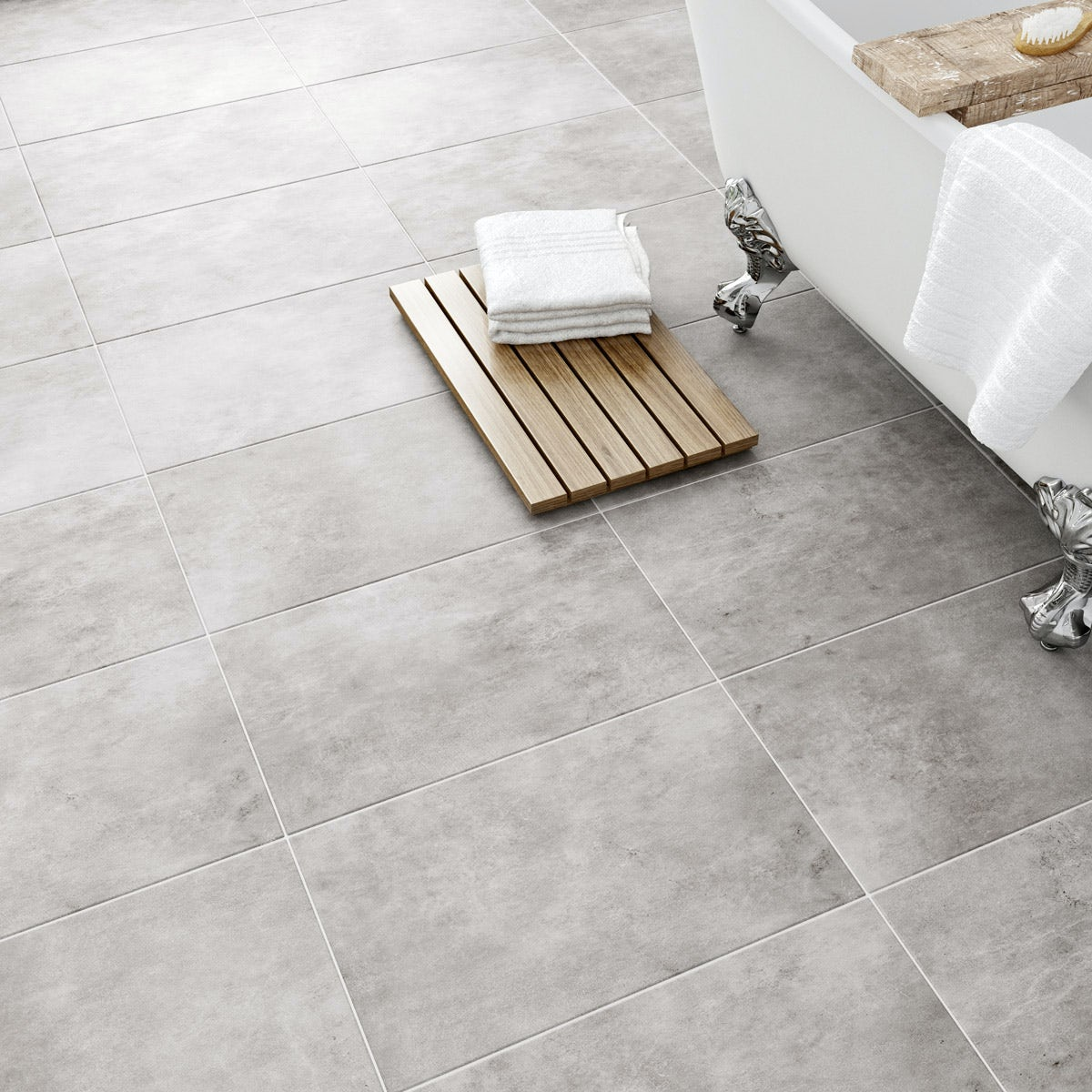 Laura ashley heritage plain dove grey wall floor tile 298mm x laura ashley plain dove grey wall floor tile 298mm x 498mm dailygadgetfo Image collections