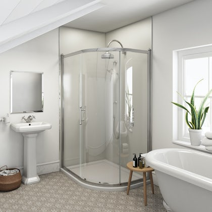Multipanel Heritage Henley Gloss unlipped shower wall panel 2400 x 1200