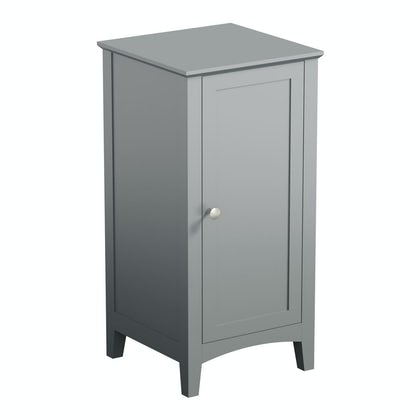 The Bath Co. Camberley satin grey storage unit