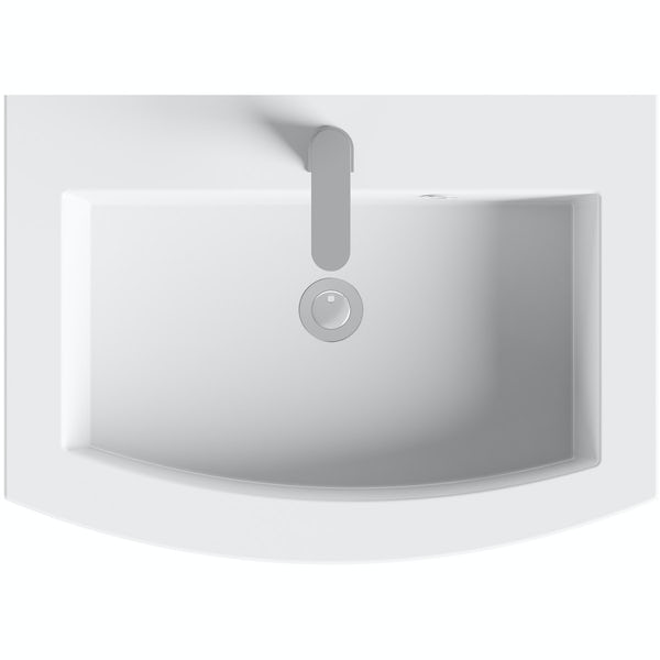 Harrison Slate 600 Wall Drawer Unit & Basin