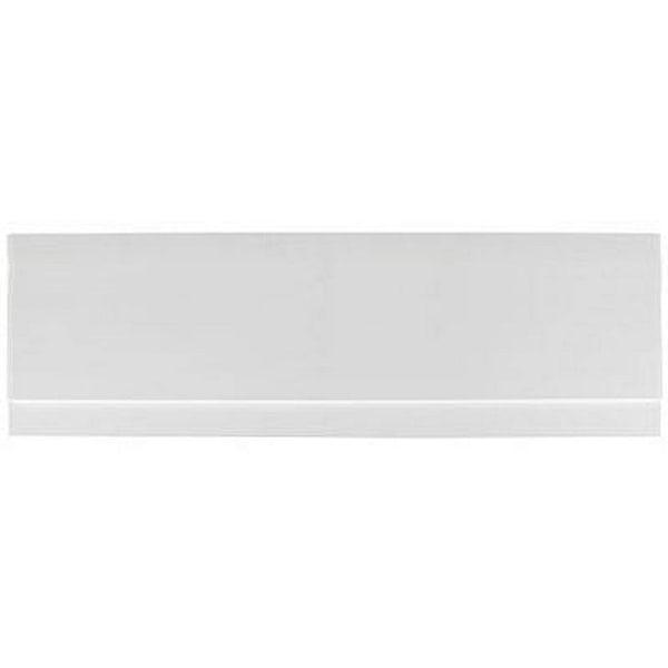 Gloss White Wooden Bath Side Panel 1700