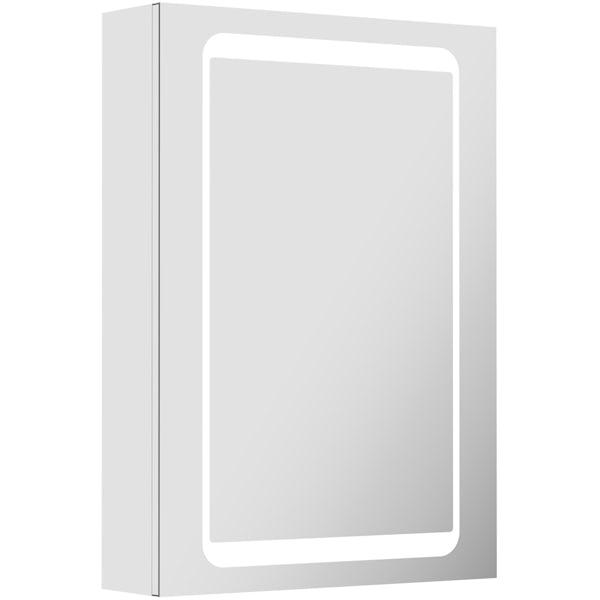 Novus LED dual lit mirror cabinet
