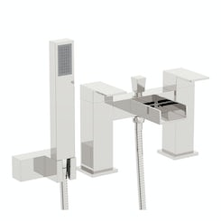Metro waterfall bath shower mixer tap