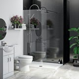 Multipanel Economy Moonlit Quartz shower wall single panel