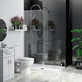 Multipanel Economy Moonlit Quartz shower wall single panel