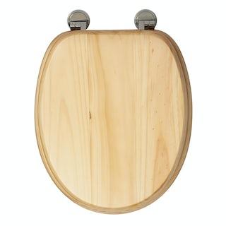 Croydex Douglas blonded pine toilet seat