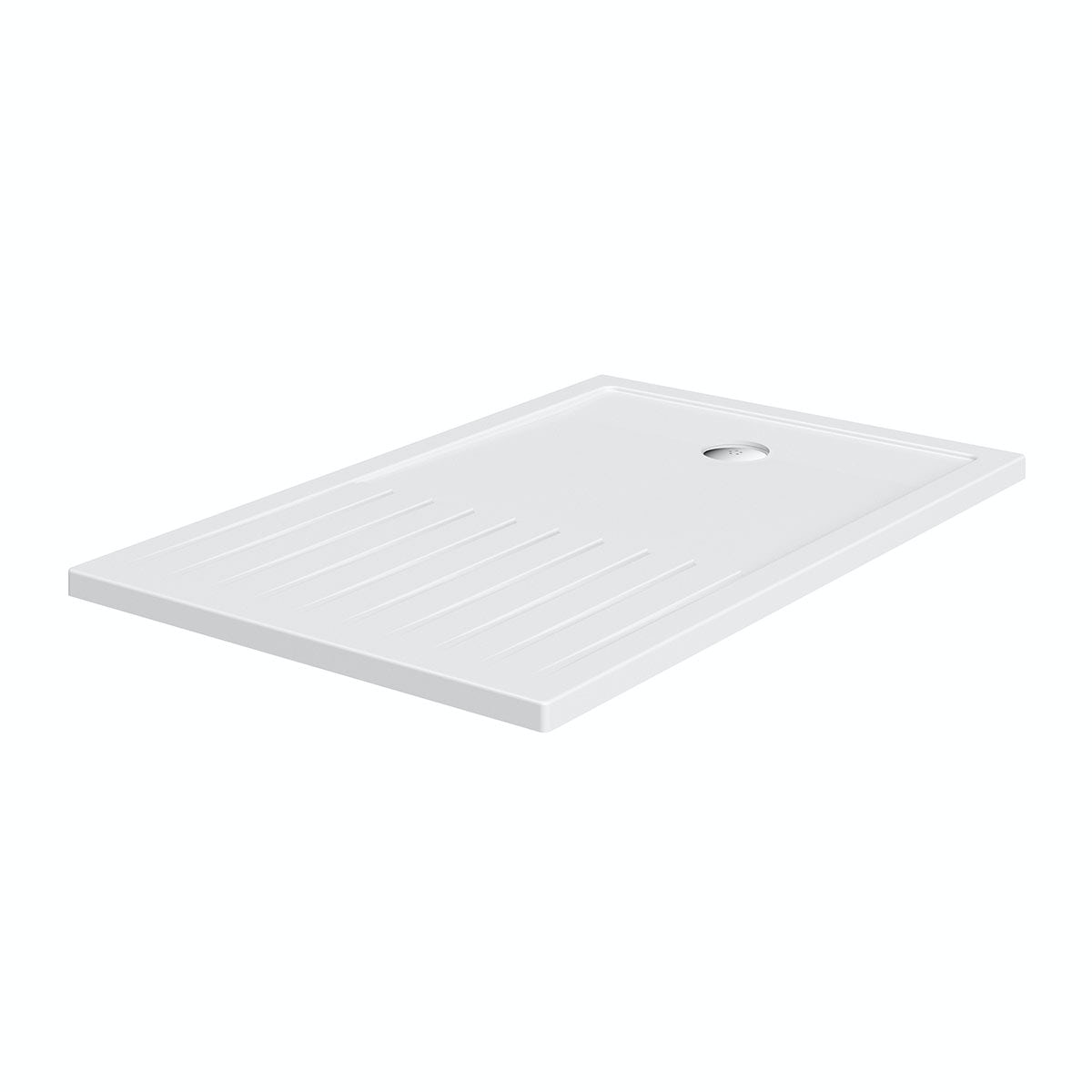 Rectangular walk in shower tray 1600 x 800 for Walk in shower tray