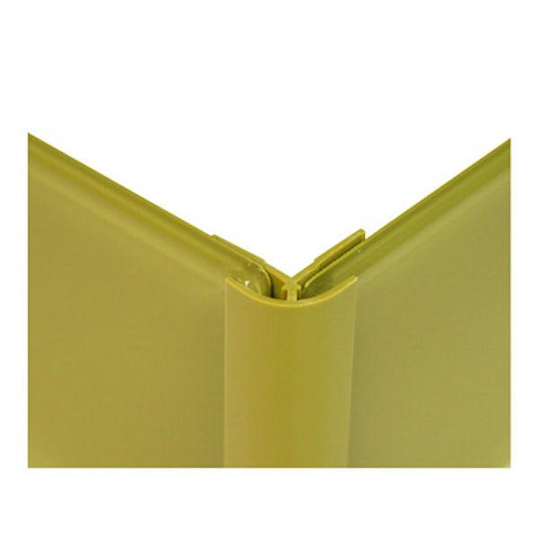 Zenolite plus matt earth colour matched external corner joint 250mm