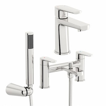 Langdale Basin and Bath Shower Mixer Pack