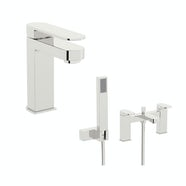 Mode Hardy basin and bath shower mixer tap pack