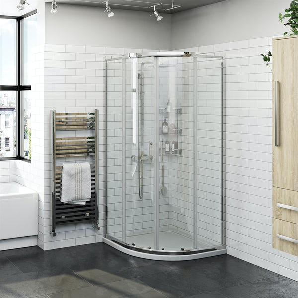 Orchard 6mm two door quadrant shower enclosure