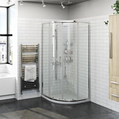 Orchard 6mm two door quadrant shower enclosure