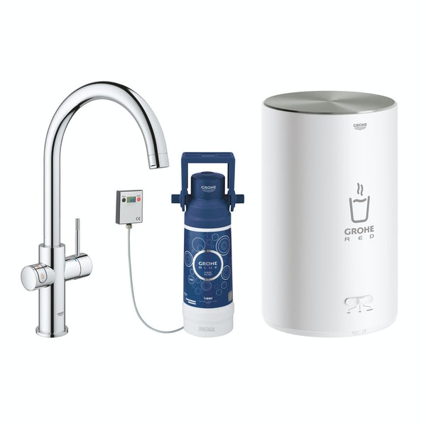Grohe Red Duo C spout boiling water kitchen tap