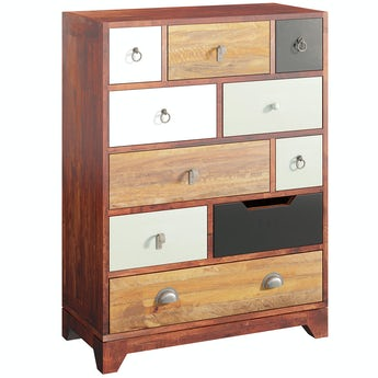 Reeves Weston multicoloured 10 drawer chest