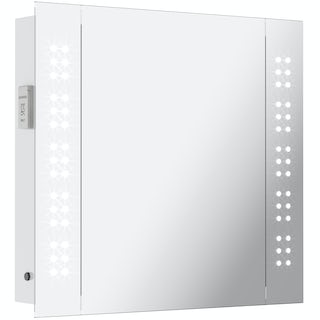 Mode Fuller LED Mirror cabinet 650x600