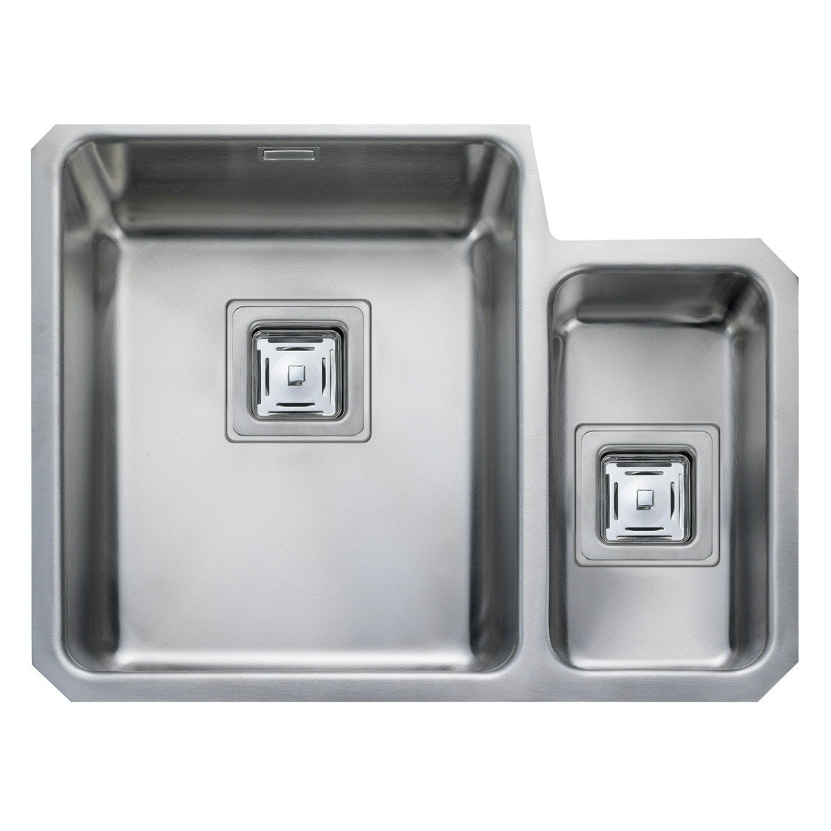 Rangemaster Atlantic Quad 1.5 bowl undermount right handed kitchen sink with waste