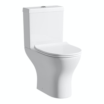 Orchard Derwent round compact close coupled toilet with luxury soft close seat
