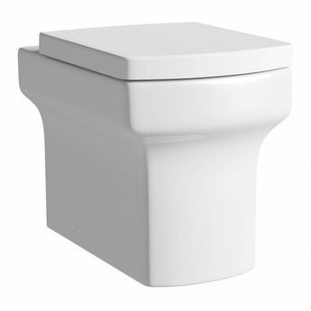 Vermont back to wall toilet with soft close toilet seat