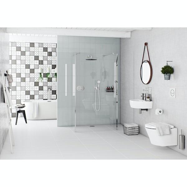 Mode Tate wall hung basin 550mm