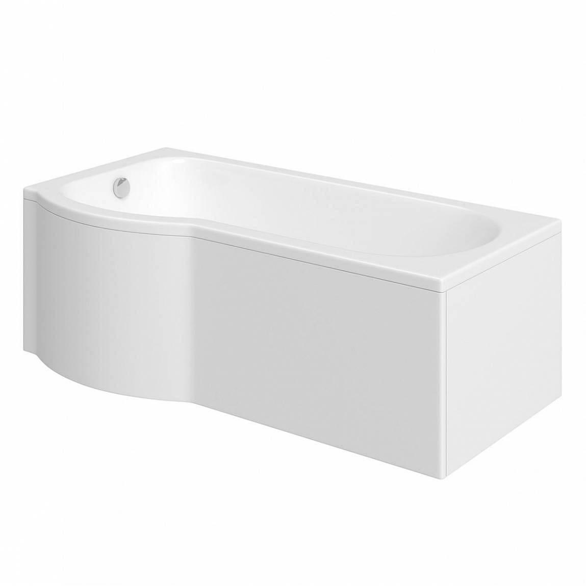 Evesham Shower Bath 1500 x 800 LH