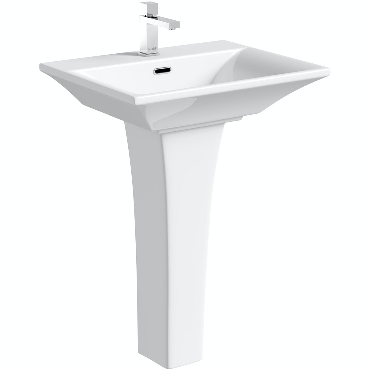 Mode Austin 1 tap hole full pedestal basin 605mm
