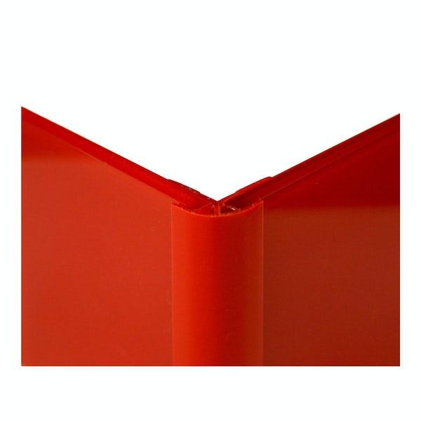 Zenolite plus matt fire colour matched external corner joint 250mm