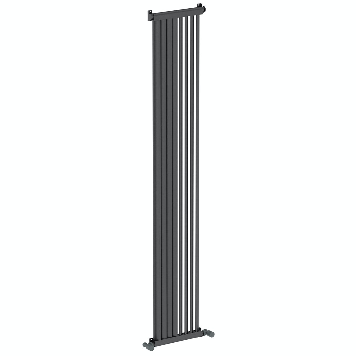 Mode Zephyra anthracite vertical radiator 1800 x 328
